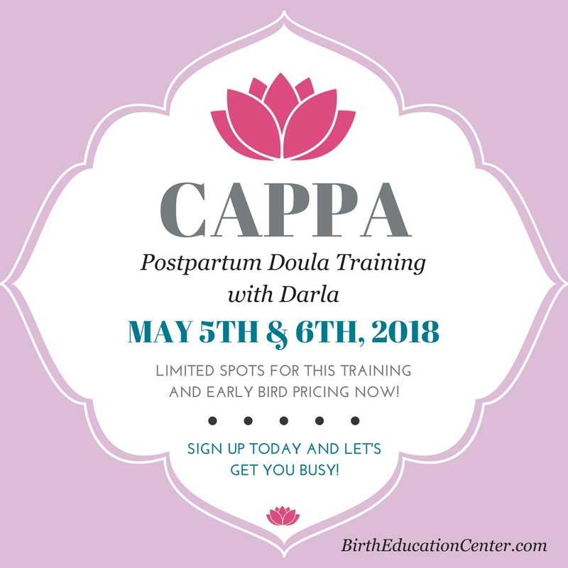CAPPA Portpartum Training - Birth Education Center